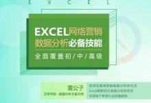 雷公子:SEM网络推广营销 Excel数据分析必备技能,理论+实践+技巧(15.3G)