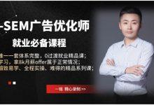 王微SEM广告课程:百度竞价推广快速入门视频教程