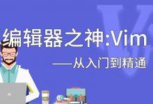 编辑神器Vim从入门到进阶教程,让你的写作跟上你的思维 免费下载