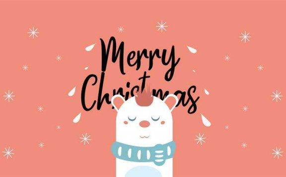 css3 svg圣诞快乐主题动画特效