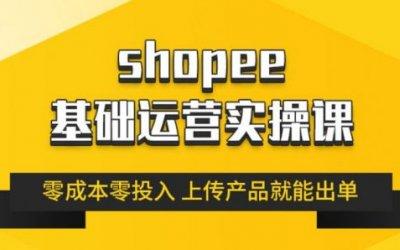 跨境Shopee基础运营实操课,林超教你零成本玩转虾皮